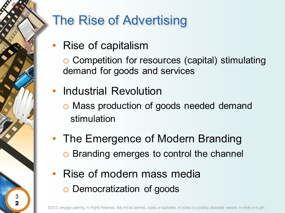 The Rise of Advertising