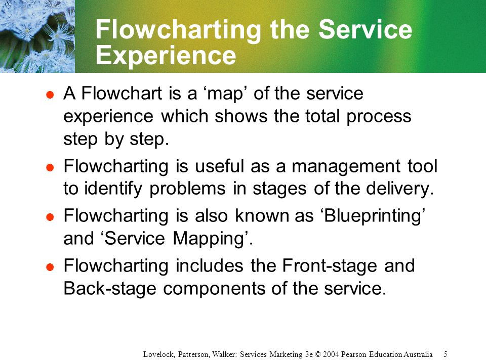Flowcharting the Service Experience