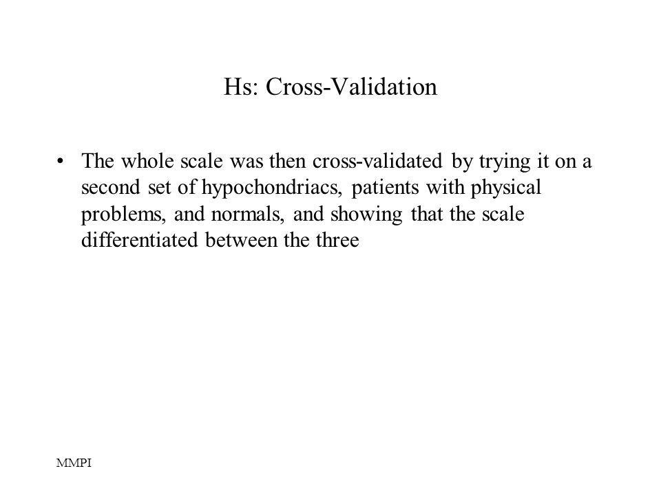Hs: Cross-Validation