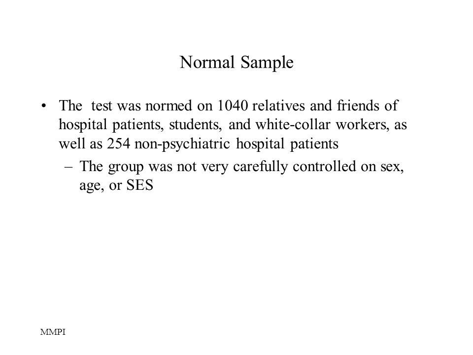 Normal Sample