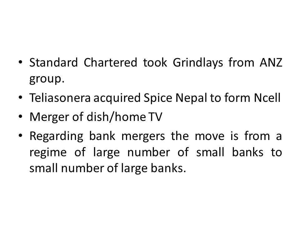 Standard Chartered took Grindlays from ANZ group.