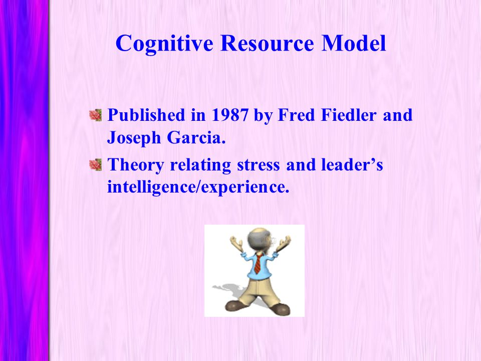 Cognitive Resource Model