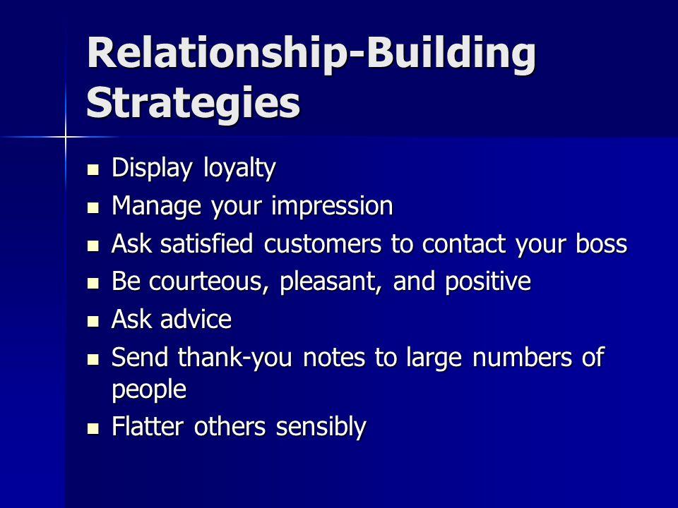 Relationship-Building Strategies