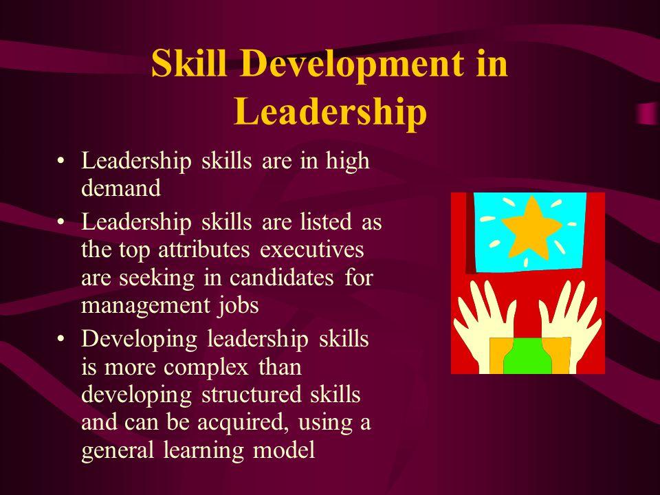 Skill Development in Leadership