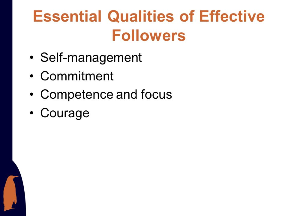 Essential Qualities of Effective Followers