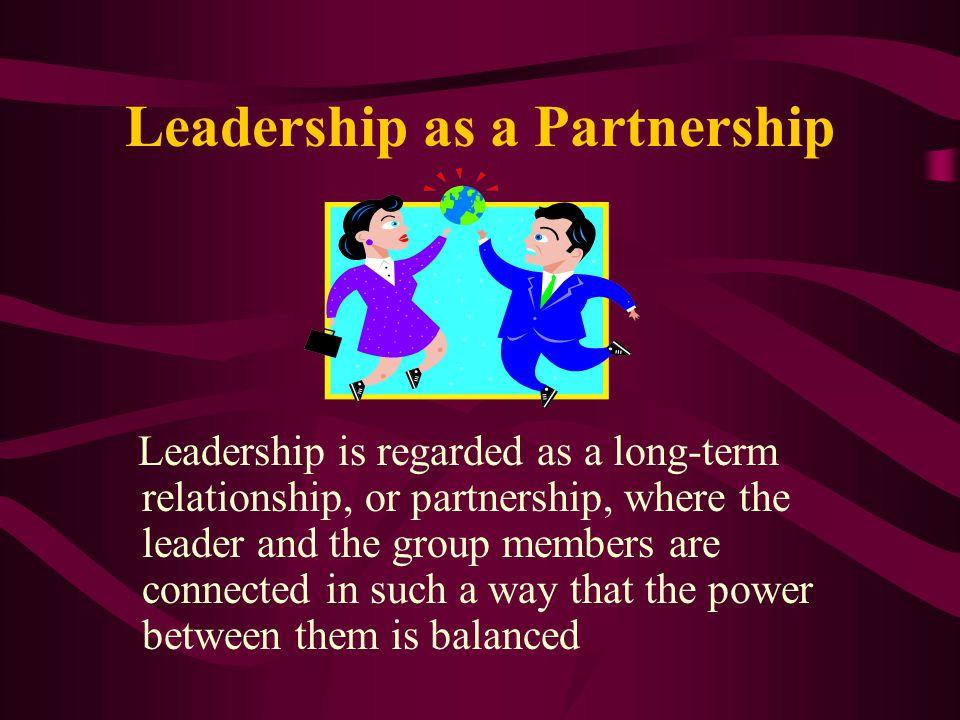 Leadership as a Partnership