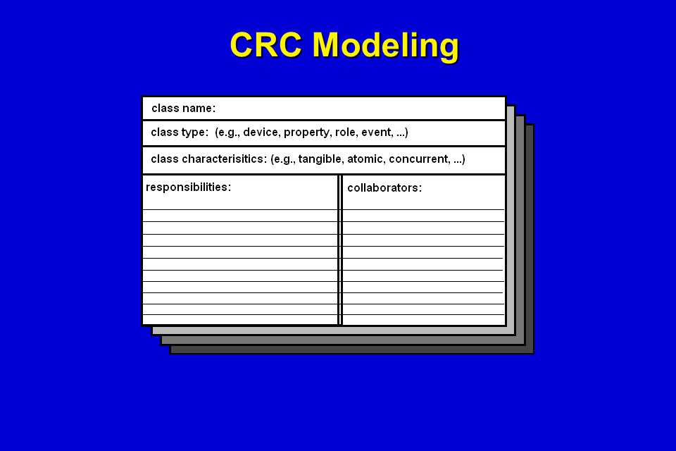 CRC Modeling