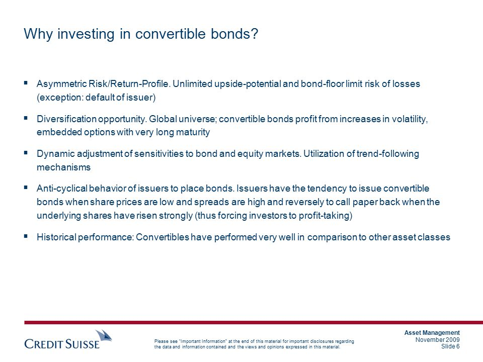 Why investing in convertible bonds