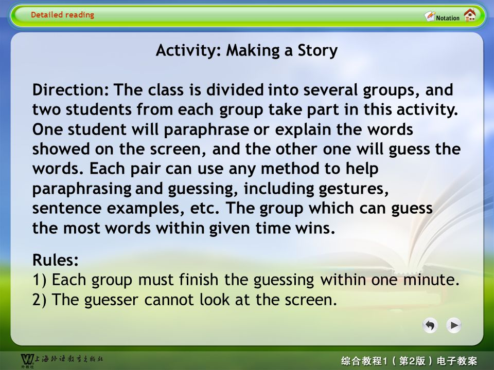 Detailed reading1– Activity 2.1