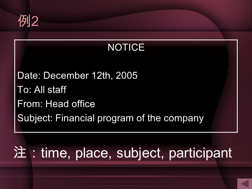 注:time, place, subject, participant