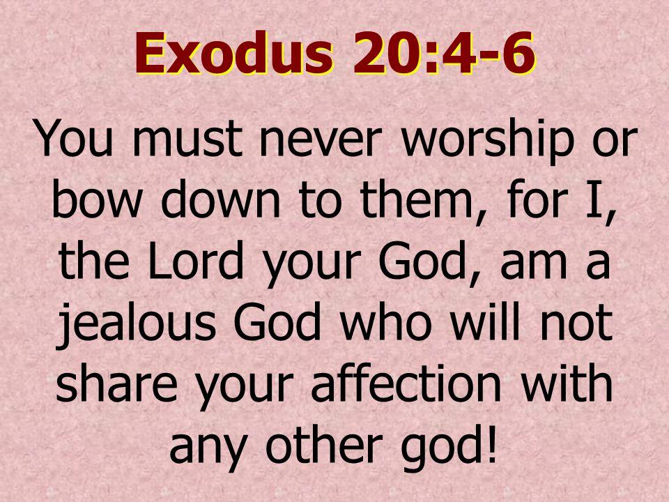 Exodus 20:4-6