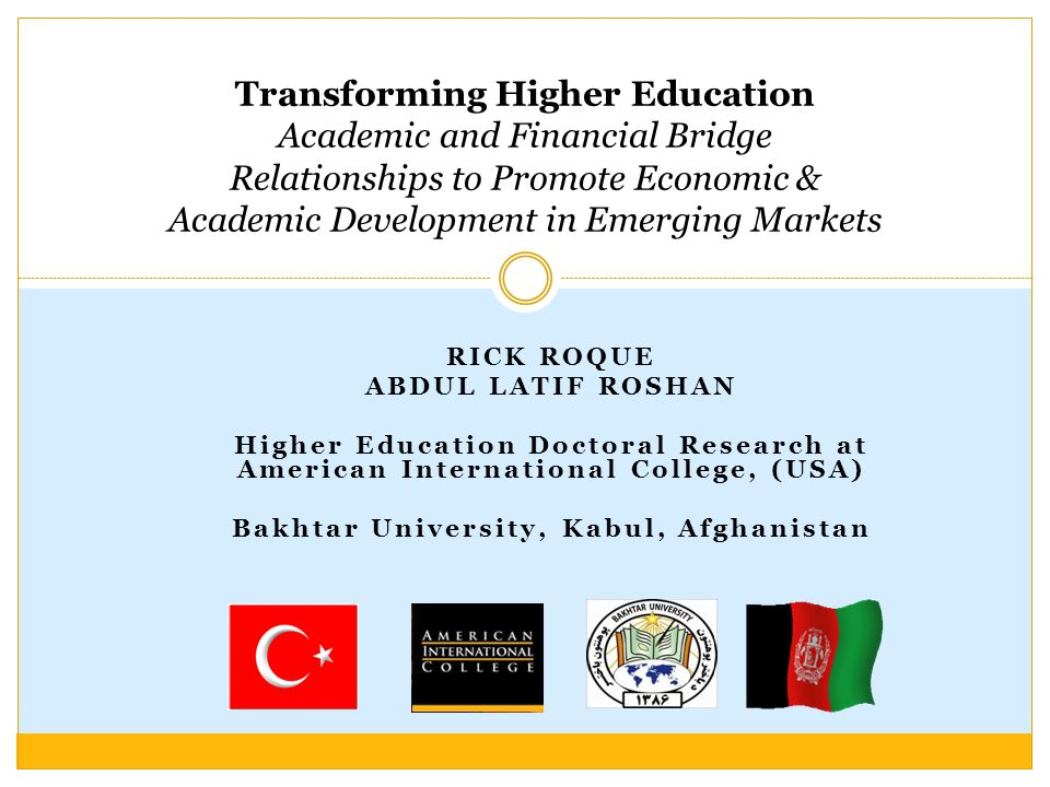 Bakhtar University, Kabul, Afghanistan