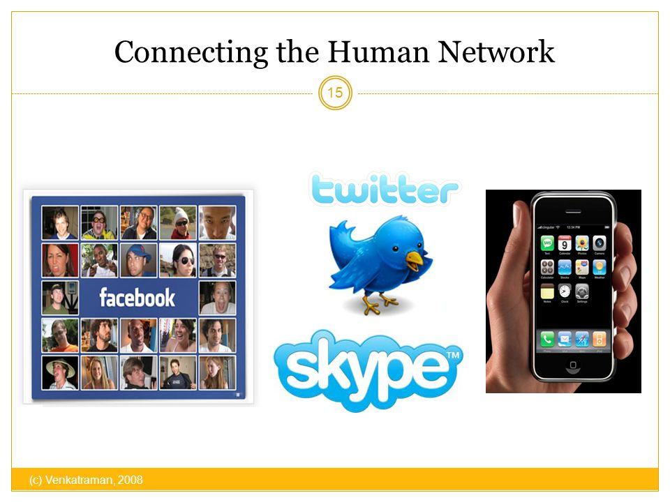 Connecting the Human Network