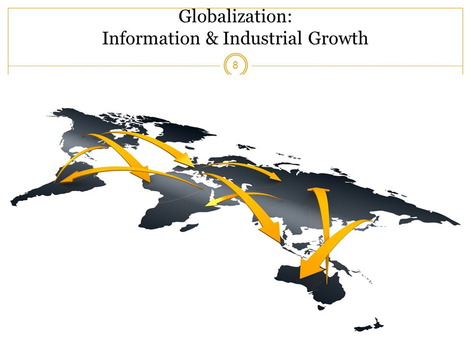 Globalization: Information & Industrial Growth