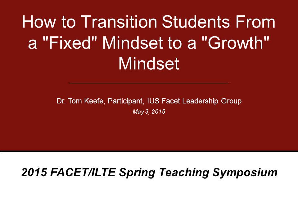 2015 FACET/ILTE Spring Teaching Symposium