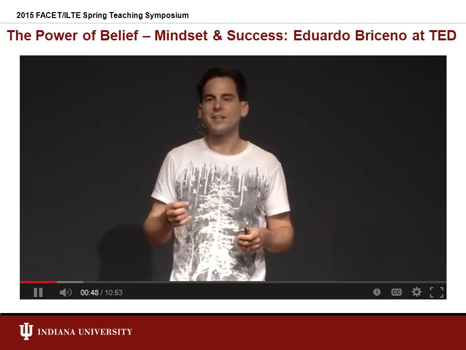 The Power of Belief – Mindset & Success: Eduardo Briceno at TED