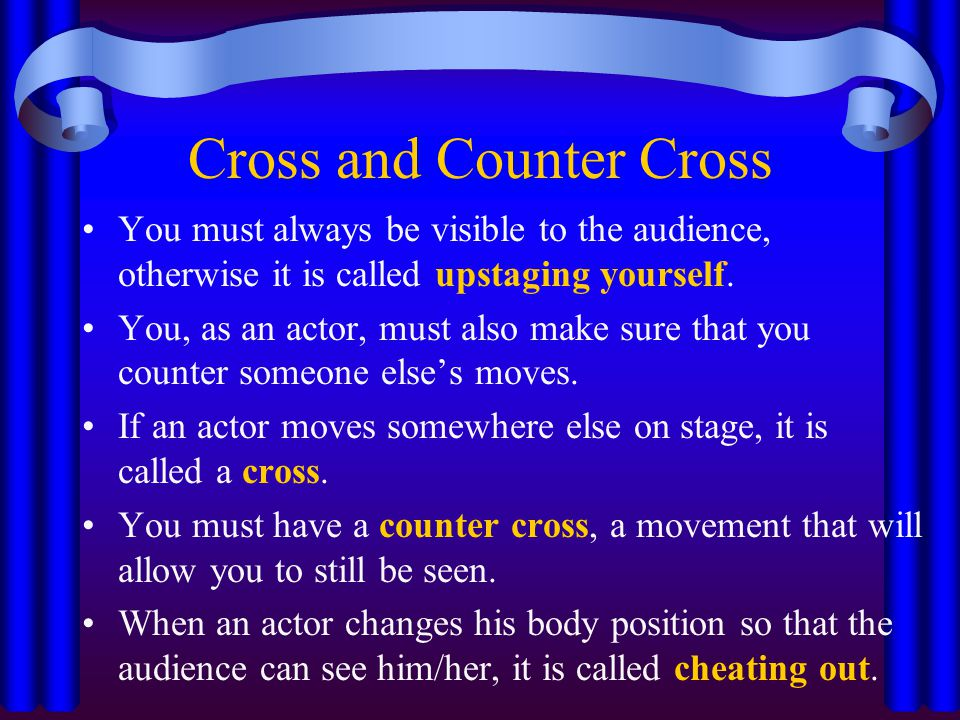 Cross and Counter Cross