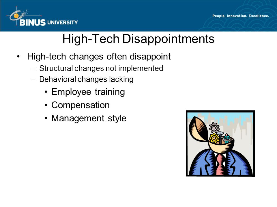High-Tech Disappointments