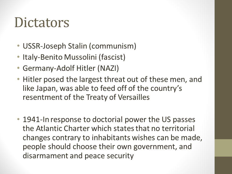 Dictators USSR-Joseph Stalin (communism)