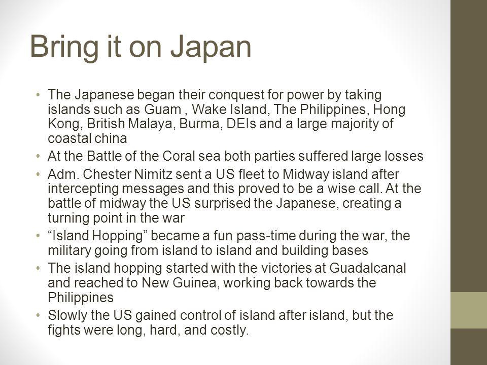 Bring it on Japan