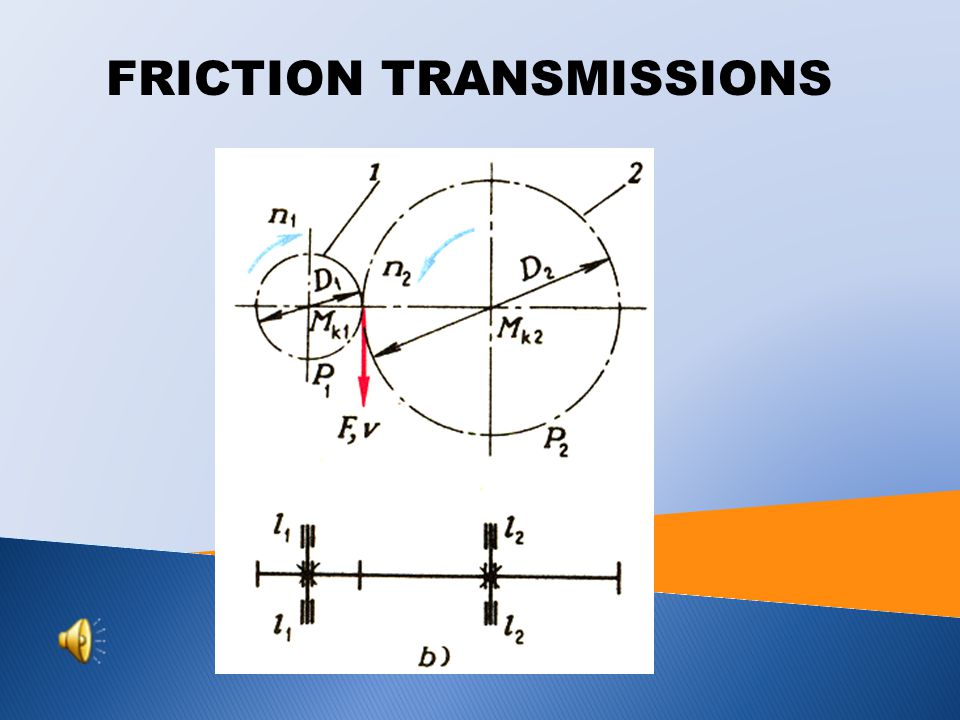 FRICTION TRANSMISSIONS