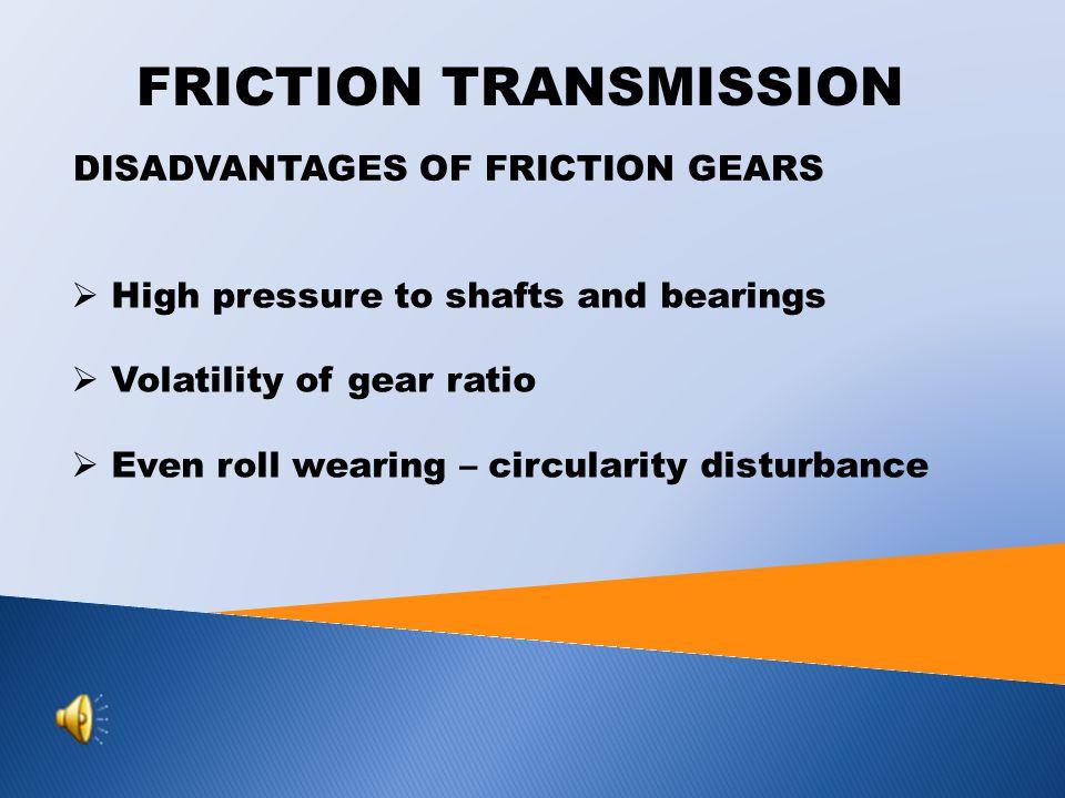 FRICTION TRANSMISSION