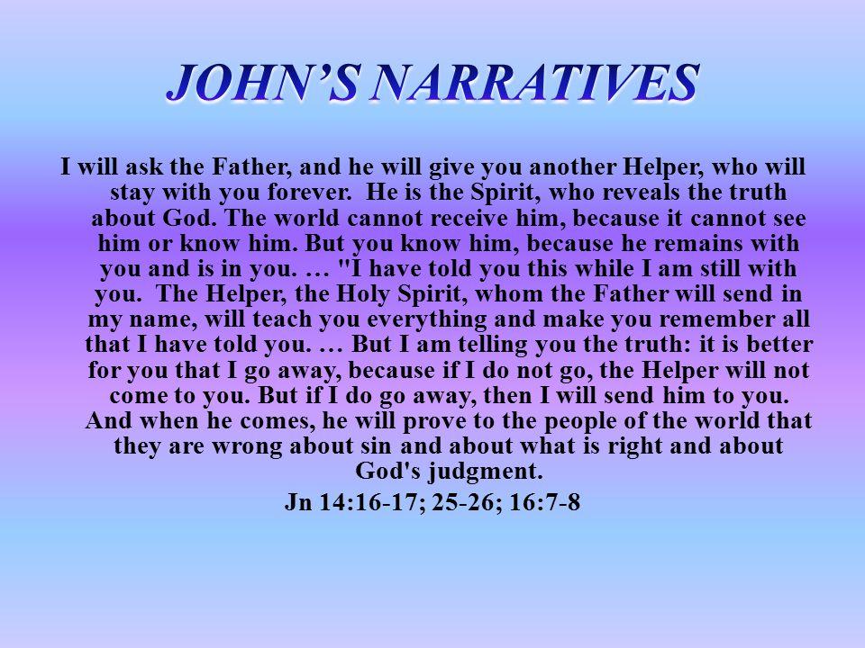 JOHN'S NARRATIVES