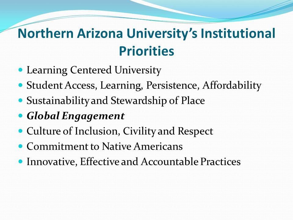 Northern Arizona University's Institutional Priorities