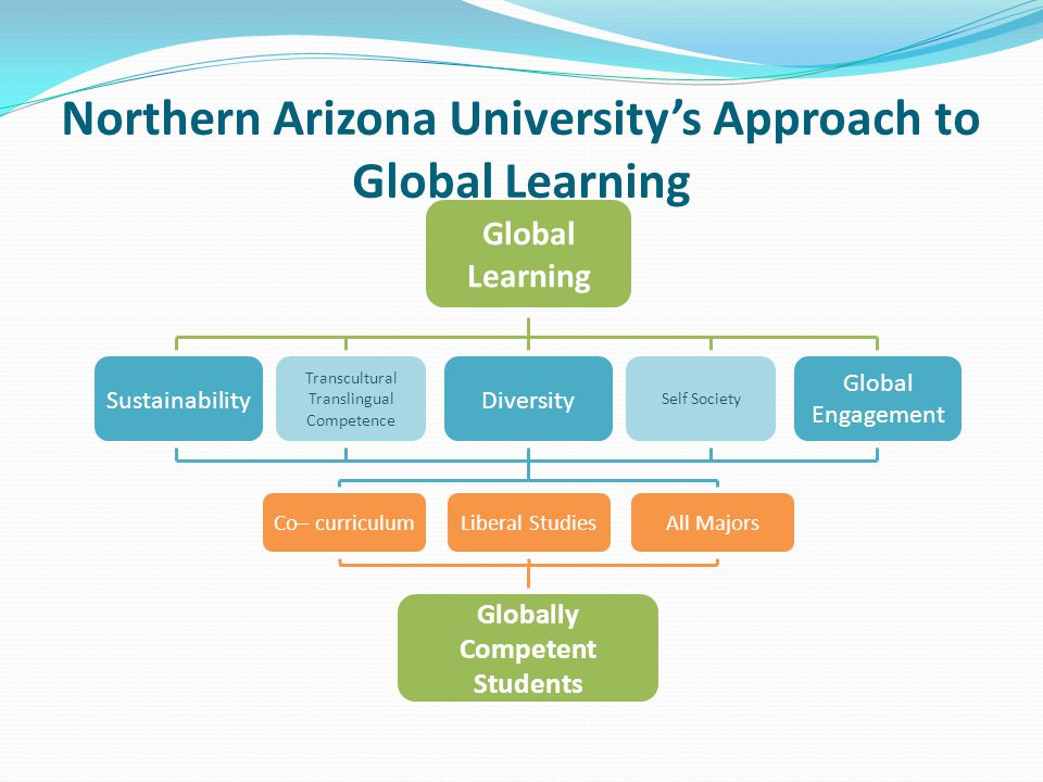 Northern Arizona University's Approach to Global Learning