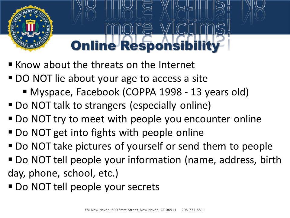 Online Responsibility