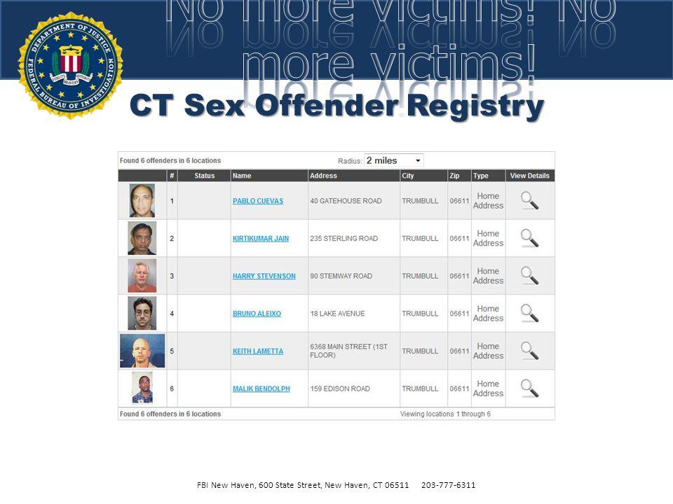 CT Sex Offender Registry