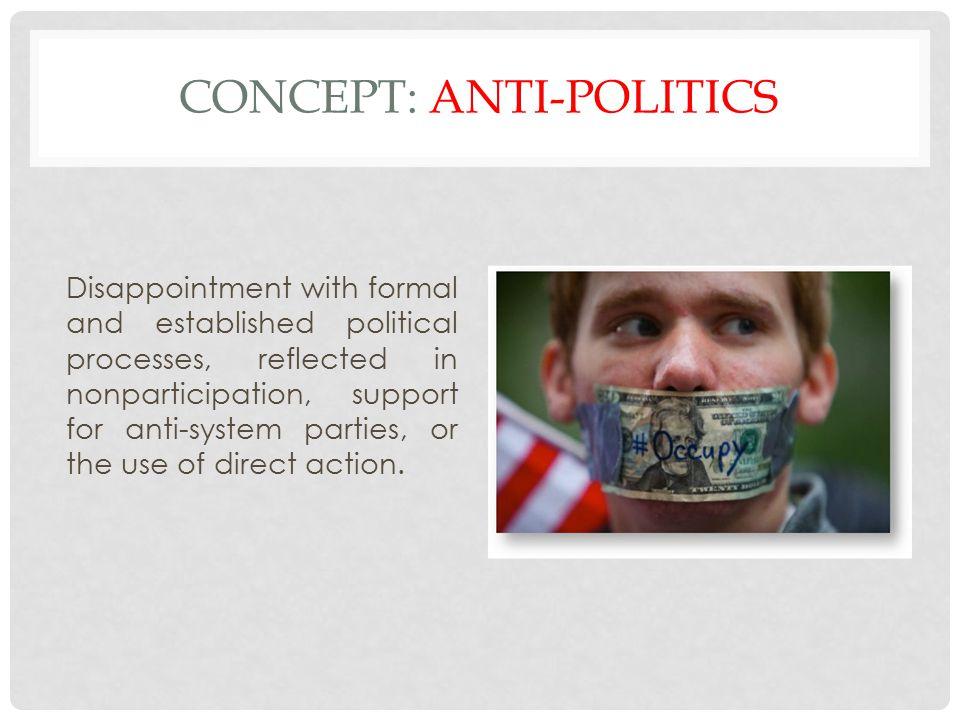 Concept: Anti-politics