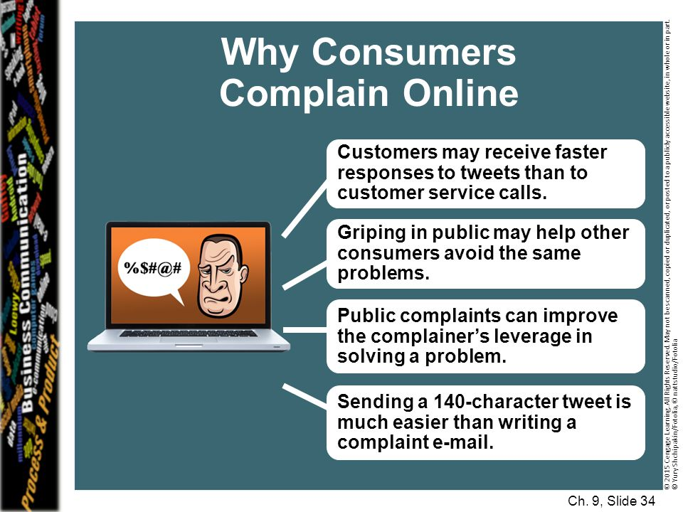 Why Consumers Complain Online