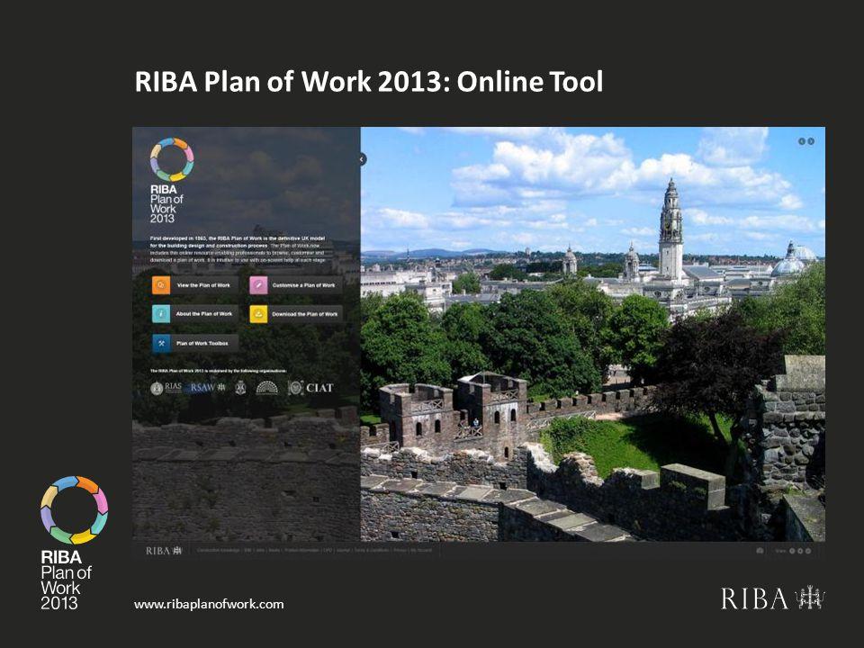 RIBA Plan of Work 2013: Online Tool