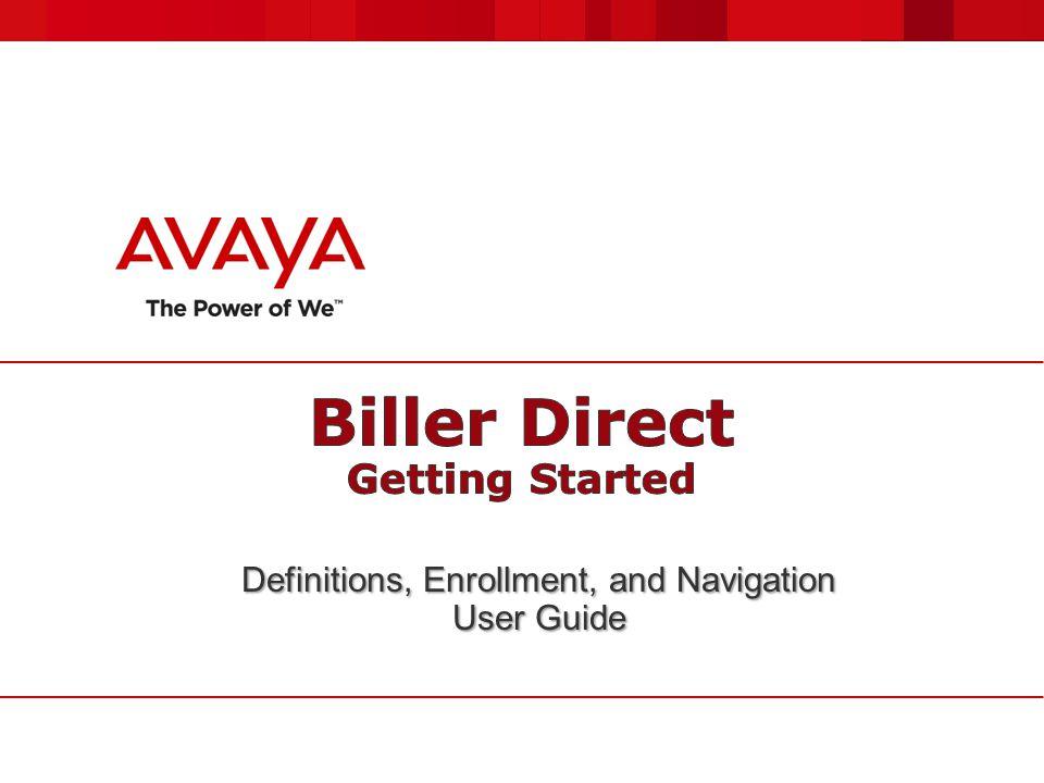 Biller Direct Getting Started