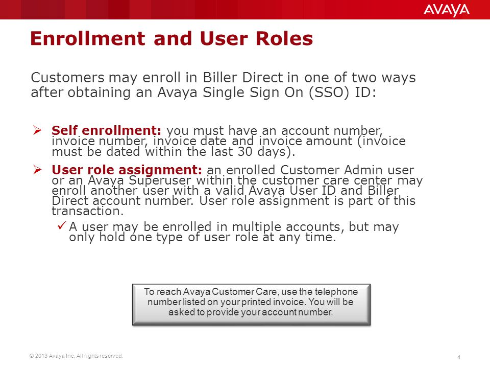 Enrollment and User Roles