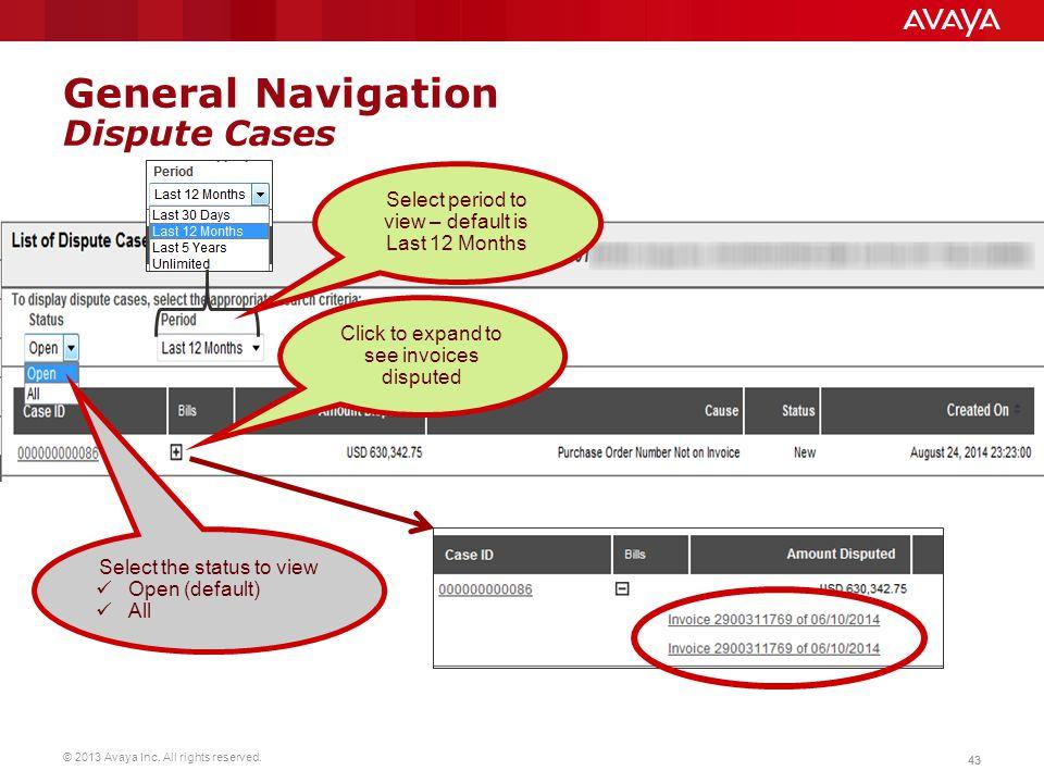 General Navigation Dispute Cases