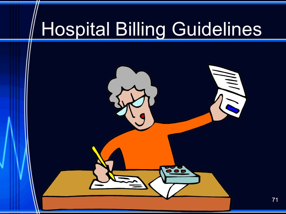 Hospital Billing Guidelines