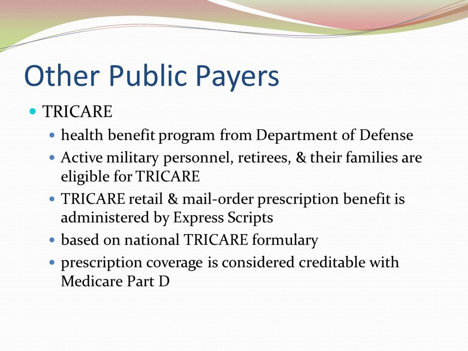 Other Public Payers TRICARE