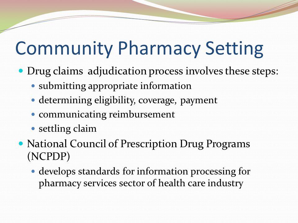 Community Pharmacy Setting