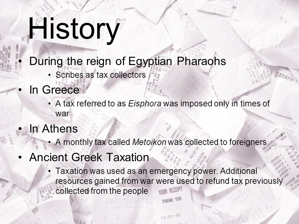 History During the reign of Egyptian Pharaohs In Greece In Athens