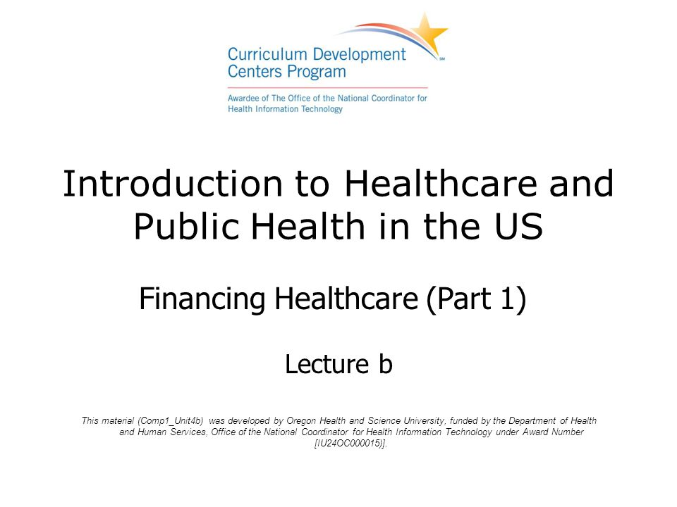 introduction to health care services