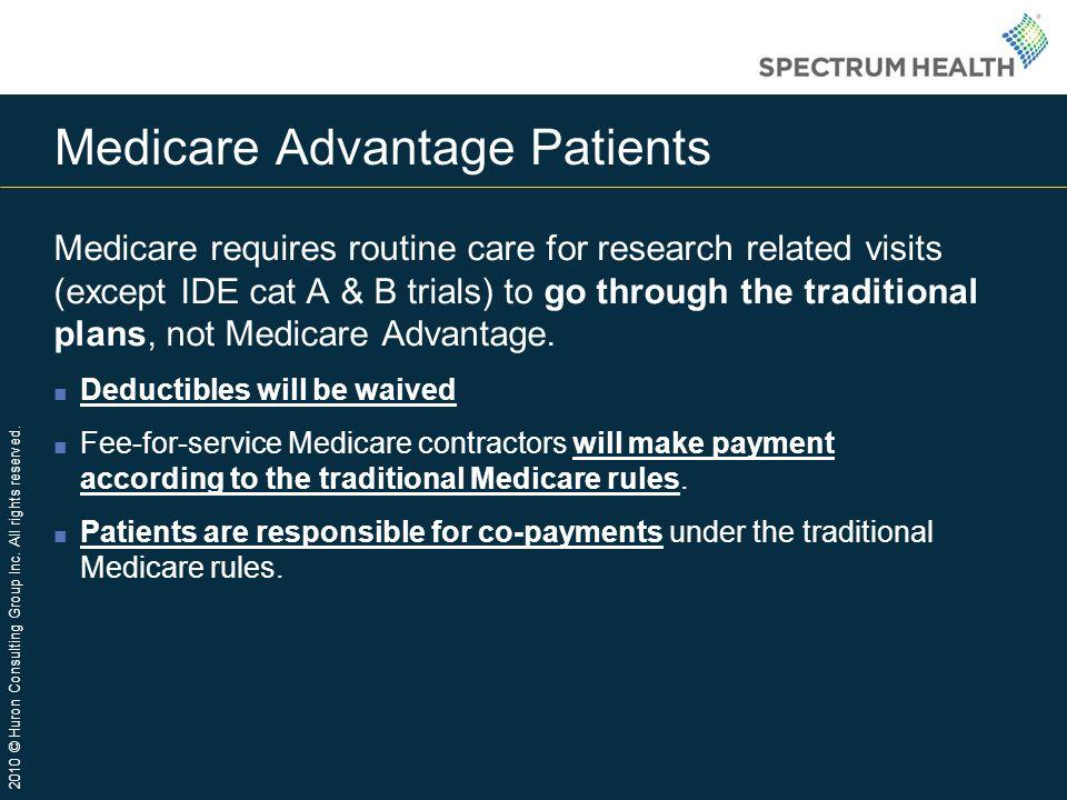 Medicare Advantage Patients