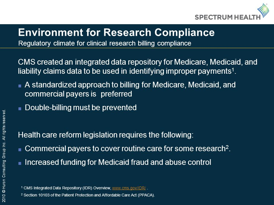 Environment for Research Compliance