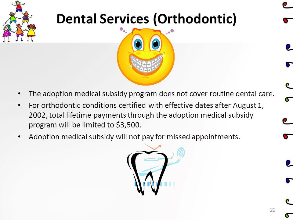 Dental Services (Orthodontic)