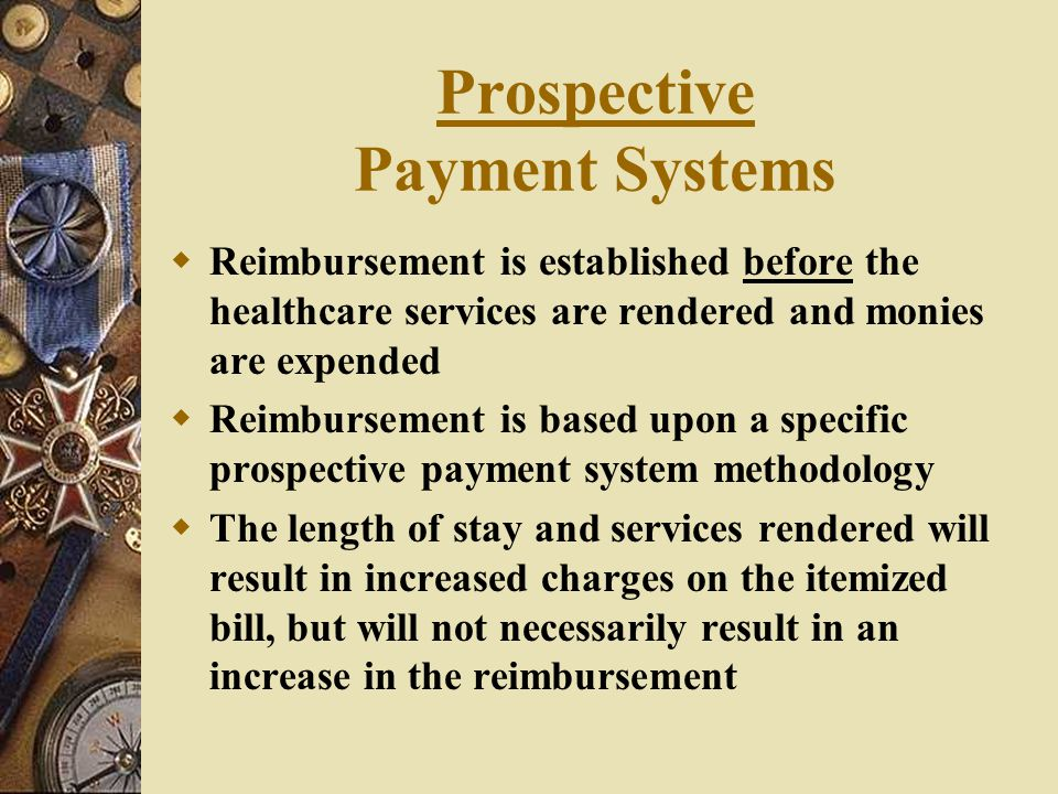 Prospective Payment Systems