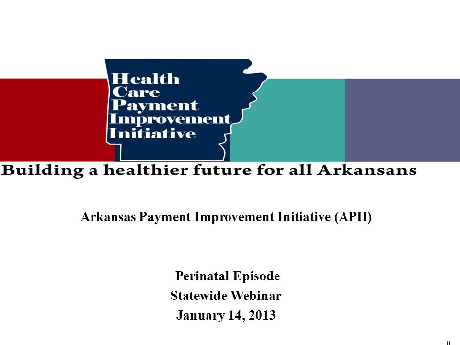 Contents Dawn Zekis, Medicaid Health Innovation Unit Director - Overview of the Healthcare Payment Improvement Initiative.
