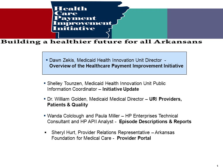 Today, we face major health care challenges in Arkansas