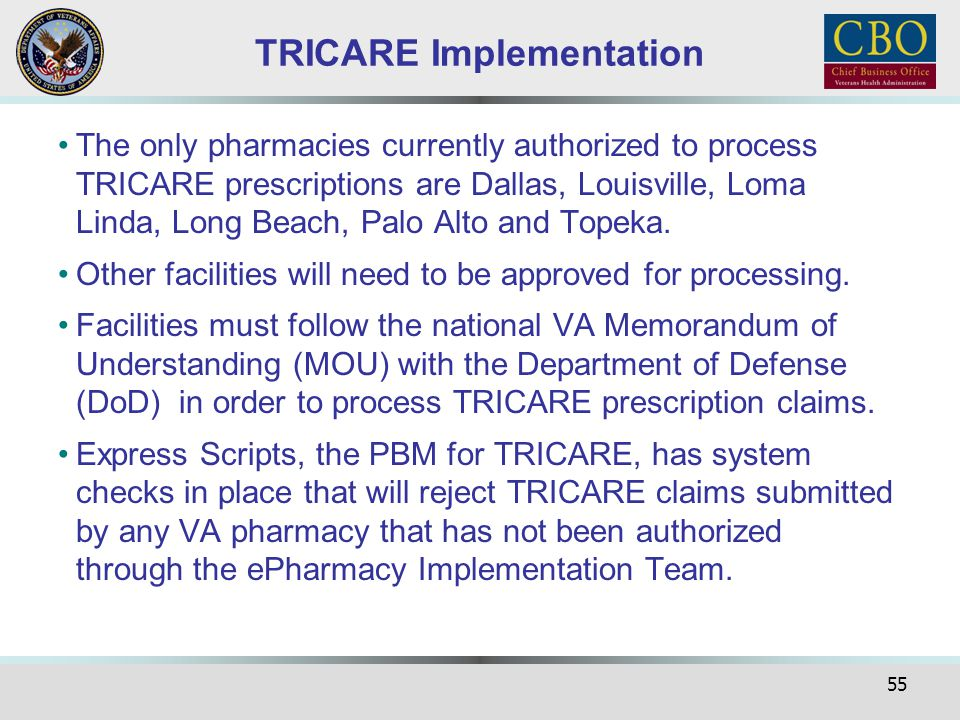 TRICARE Implementation