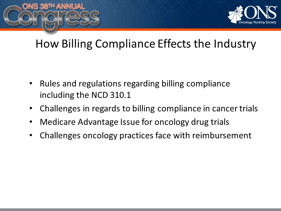 How Billing Compliance Effects the Industry
